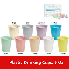 Disposable Drinking Cups For Dental Clinics 5Oz, Choose Color & Case Quantity