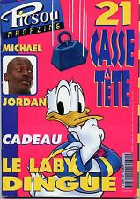 Picsou Magazine No. 301 February 1997 With Michael Jordan (In French)