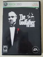 The Godfather The Game (Microsoft Xbox 360, 2006) No Manual