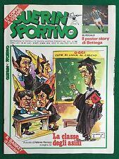 GUERIN SPORTIVO 1976 n 44 con POSTER STORY ROBERTO BETTEGA NAZIONALE COPPE