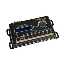 PRV Digital Audio Signal Processor Equalizer DSP2.8 X 8Ch 15 Band LCD Crossover