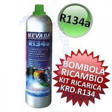 3S BOMBOLA RICAMBIO per KIT RICARICA FAI DA TE CLIMATIZZATORE AUTO R134A - 900gr