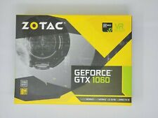 ZOTAC GeForce GTX 1060 6GB 192 BIT GDDR5 Graphic Card - ZT-P10600A-10L OPEN BOX