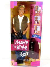 * Nib Barbie Doll 1999 Shave 'N Style Ken 23788