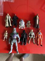 10x Hasbro 2000+ Star Wars Action Figures Bundle job lot - STAR WARS - (23)