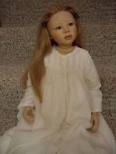 "Elite Dolls, ""Angela"" By Christine Orange, 34"" Tall, Porcelain"