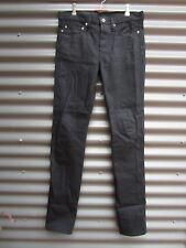 Kitsune Men's Black Jeans Size 30 Measured Waist 34 Measured Leg 36
