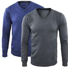 Maglia Uomo Scollo a V Pullover Basic Abbigliamento Casual GIROGAMA - 1758M