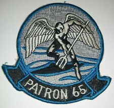 Usn Patron 65 Patch- Vintage Navy