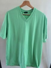 South Bay Green Short Sleeve t Shirt Size XL Polyester <T2951