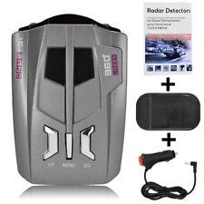 360° 16 Band V9 Car Trucker Speed Laser Radar Detector Auto Voice Alert Warning