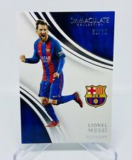 2017 Panini Immaculate Lionel Messi Card #58/75 FC Barcelona