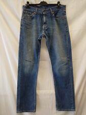 jeans uomo Levi's 505 W 34 L 34 taglia 48
