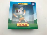 TOLO TOYS CLIP ON FRIENDS TEDDY BEAR BY SMALL WORLD TOYS 3 MONTHS +
