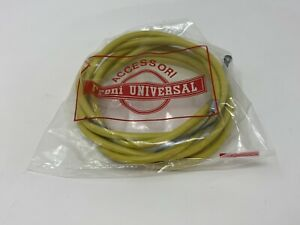 Vintage Nos Universal Brake CableGuide Kit Yellow For 70s 80s RoadBike Colnago A