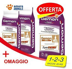 Monge GEMON BREEDERS 20 kg SUPER ENERGY Crocchette per cane CANI OFFERTA