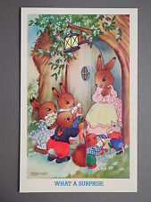 R&L Postcard: J Salmon, Childrens Willy Schermele Rabbit Squirrel Animals