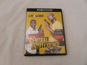 Central Intelligence 4K Ultra HD Blu-ray, 2016