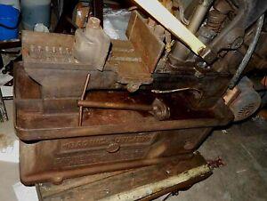 Vintage Power Hacksaw Hack Saw Racine Utility, Model 66W2 or 66W4