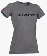 GHOST T-Shirt für Damen - Women Bike Tee Ghost grau/schwarz 2017 - L
