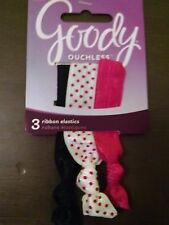 Goody Ouchless Ribbon Elastics Brights 3 Count Girls 2015