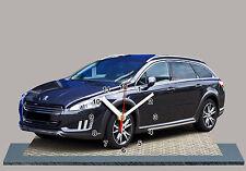 MINIATURE, MODEL CARS, AUTO PEUGEOT 508 SW 01 EN HORLOGE
