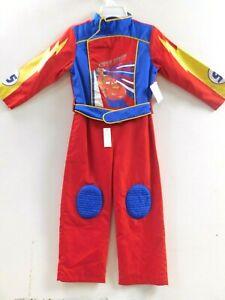 Disney Boys Cars Lightning McQueen Jumpsuit & Belt Costume Size 3 NWT $40.00
