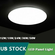 Led Ceiling Light Modern Lighting Fixture Bedroom Kitchen Surface Mount Lamp New
