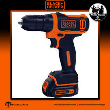 BLACK+DECKER. Trapano Avvitatore 10.8V Litio - Hammer drill  | BDCD12-QW
