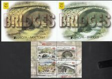 CEPT Macedonia Mazedonien 2018 Ma 780-781   Used Castles Booklet