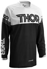 SALE THOR PHASE HYPERION BLACK JERSEY ADULT MOTOCROSS Medium ONLY