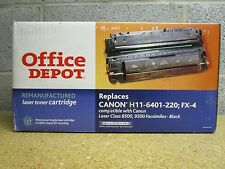 Office Depot H11-6401-220 FX4 For Canon Laser Class 8500 9500 Sealed Lot of 2