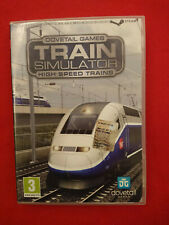 PC COMPUTER TRAIN SIMULATOR HIGH SPEED TRAINS DOVETAIL GAMES ITA ITALIANO