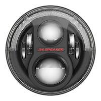 """JW Speaker 8700 Evolution J2 7"""" LED Headlight Pair - Black 07-17 Jeep Wrangler"""