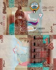 KUWAIT - 1/4 Dinar 2014  FDS - UNC