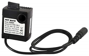 Replacement Pump for Cat Mate and Dog Mate Pet Fountains