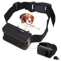 Electric Pet Dog Anti-Bark Control Collar Vibration Training Collar Adjustable
