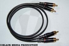 High End Cinch Kabel SC Onyx 2025 1m (2x RCA) für Audio HiCon *NEU*