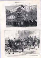 1872 Floral Pavilion In New Oxford Street Thanksgiving Day