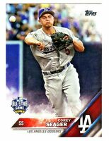 2016 Topps Update US167 COREY SEAGER RC Rookie Los Angeles Dodgers QTY AVAILABLE