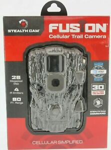 NEW STEALTH CAM FUSION WIRELESS CELLULAR TRAIL GAME CAMERA AT&T