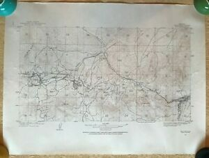 Ely White Pine County Nevada 1910 USGS Mining Map