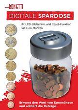 Digitale Spardose Modell: Dose Sparschwein Zählwerk Münzzähler elektronisch