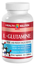 Helps Emotional Well-Being Tablets - L-Glutamine 500mg - Amino Acids Power 1B