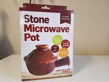 Kole OF518 Ceramic Stoneware Stone Microwave Pot - New.