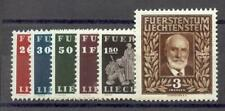 LIECHTENSTEIN 1940 186-191 ** POSTFRISCH SATZ TADELLOS (F3060