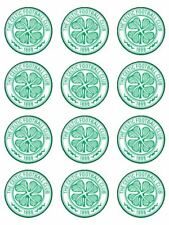 24 x edible  celtic cake toppers pre cut