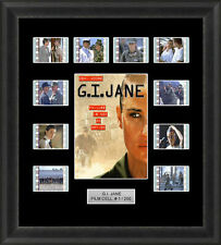 G.I. Jane Framed 35mm Film Cell Memorabilia Filmcells Movie Cell Presentation