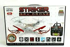 STRIKER Spy Drone World Tech Picture/Video Camera. RC Quadcopter ~FREE SHIPPING