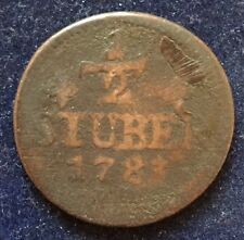 1/2 Stuber 1783 PM Jülich Berg KM#206 Carl Theodor